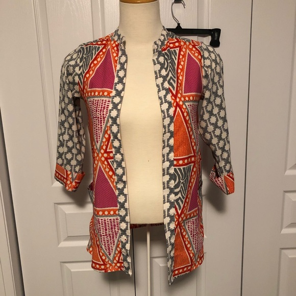 2/$30 H&M colourful open cardigan